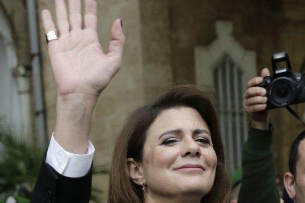 Libanonská ministerka vnútra Rajja Hasanová.