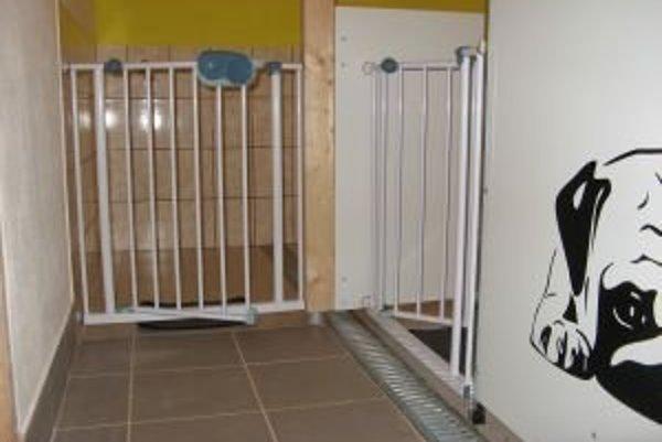 Apartmány pre psíkov, ktorí vyžadujú špeciálnu starostlivosť, napríklad šteniatka.