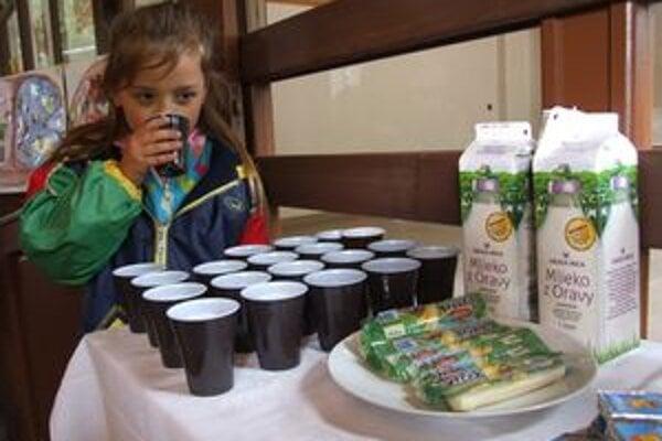 Pre deti je dôležité, aby mali zdravú stravu k dispozícii aj v školách.