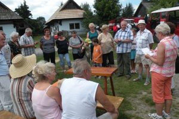 Sokolčania sa stretli v pribylinskom skanzene a v prvú augustovú sobotu sa stretnú v sokolčianskom Háji.