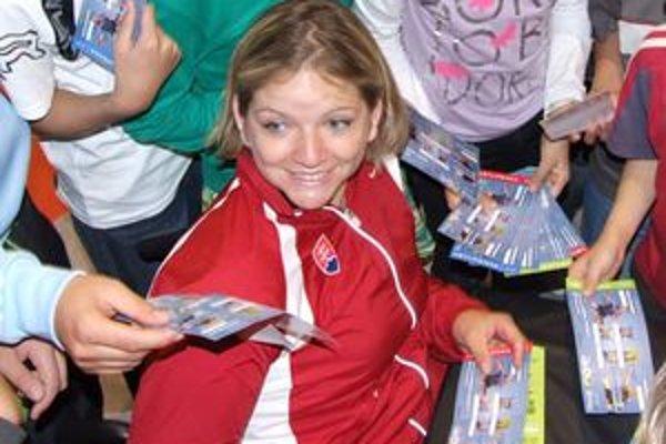 Alena Kánová je paralympijská víťazka, majsterka sveta a dvojnásobná majsterka Európy.