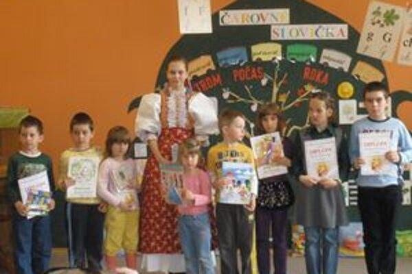 Možno sa raz zo žiakov, ktorí spievali v školskom kole Slávik Slovenska, stanú profesionálni speváci.