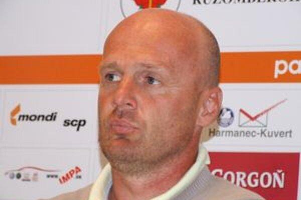 Michal Bílek už v nasledujúcom ročníku nebude kormidelníkom ružomberských futbalistov.