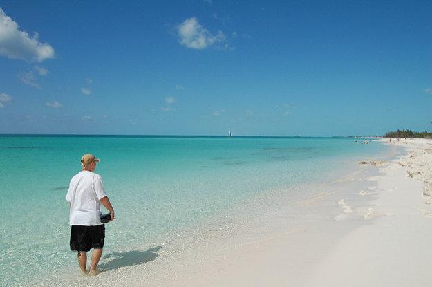 Rajská pláž (Paraiso), Cayo Largo, Kuba