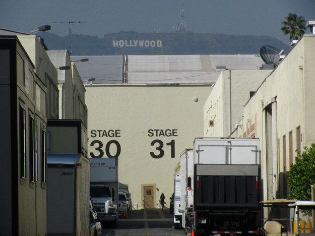 Filmové štúdiá Paramount v Hollywoode.