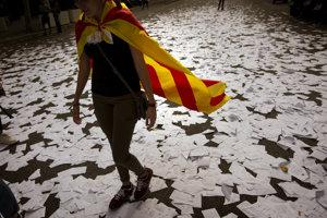 Katalánske referendum o nezávislosti sa neskončilo jasným úspechom.