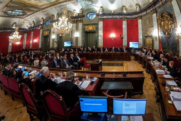 Súdna sieň v Madride s katalánskymi speratistami