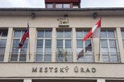 Mestský úrad v Trenčíne.