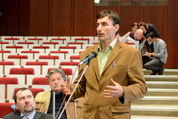 Obyvateľ Róbert Gregorek hovoril o dôležitosti vody v meste