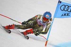Američanka Mikaela Shiffrinová, 4. miesto po úvodnom kole.
