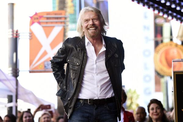 Britský miliardár Richard Branson.