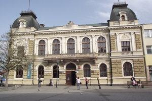 Budova Ponitrianskeho múzea.