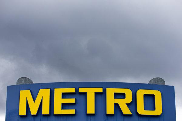 Logo nemeckého Metra (ilustračné foto).