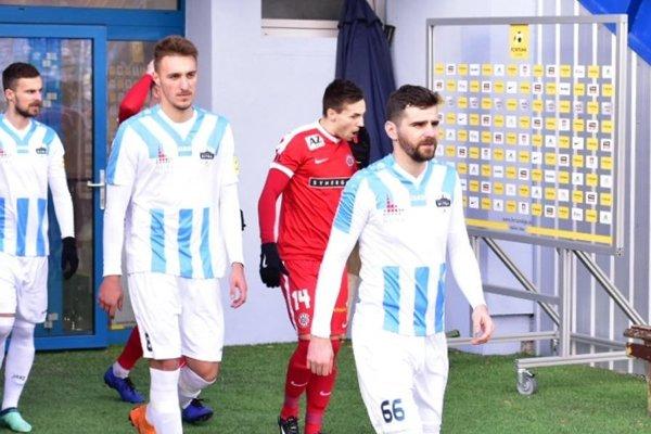 Márius Charizopulos (vpravo) má v prvej lige odohraných viac ako 80 zápasov.