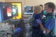 Pomocou nového prístroja už vyšetrili prvých pacientov.