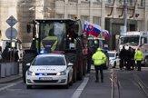 Farmári zablokovali ulice v Bratislave (fotogaléria)