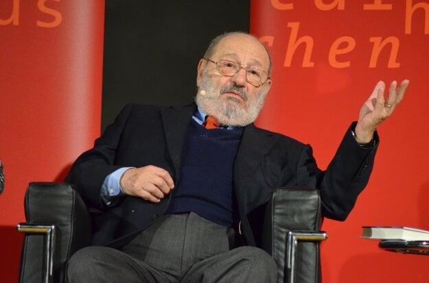 Umberto Eco v roku 2014.