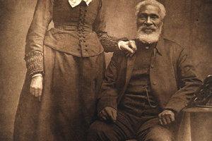 Josiah Henson s manželkou Nancy.