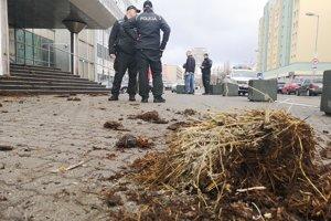 Na mieste zasahovala aj polícia.