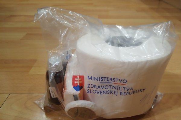 Hygienický balíček dostávajú pacienti hospitalizovaní v štátnych nemocniciach.