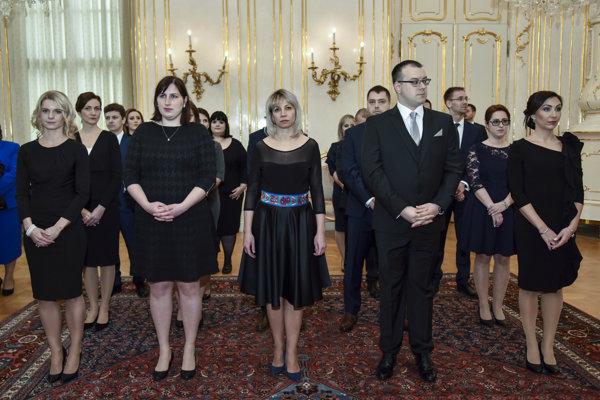 Prezident vymenoval nových okresných sudcov.