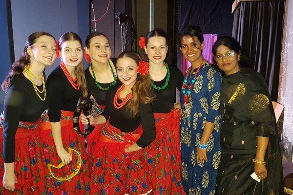 FS Rozsutec nás prezentoval v Indii.