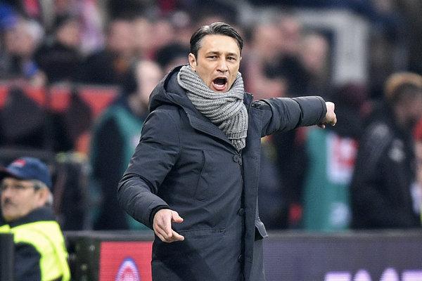 Tréner Bayernu Mníchov Niko Kovač.
