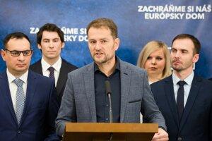 Matovič predstavil kandidátku.