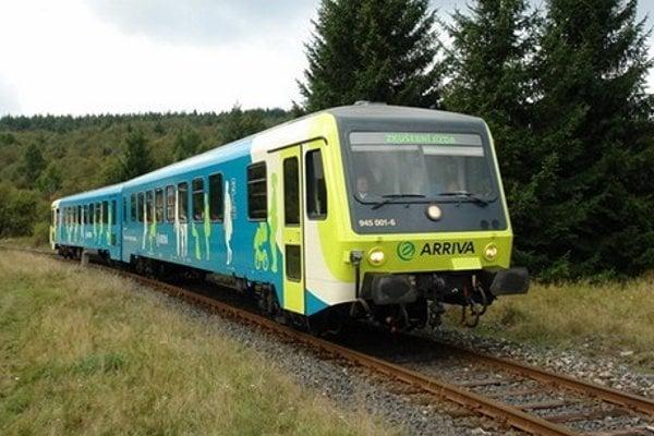 Vlak spoločnosti Arriva.