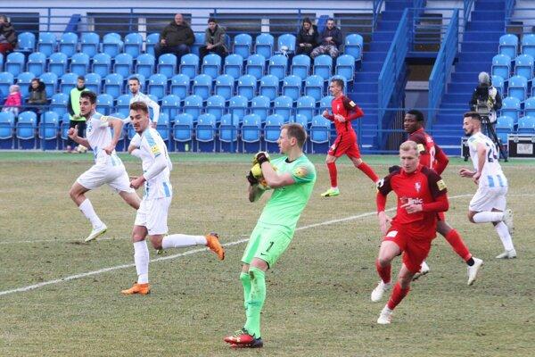 Brankár Serede Pavol Penksa v Nitre neinkasoval a jeho mužstvo si po výhre 2:0 odnieslo tri body.