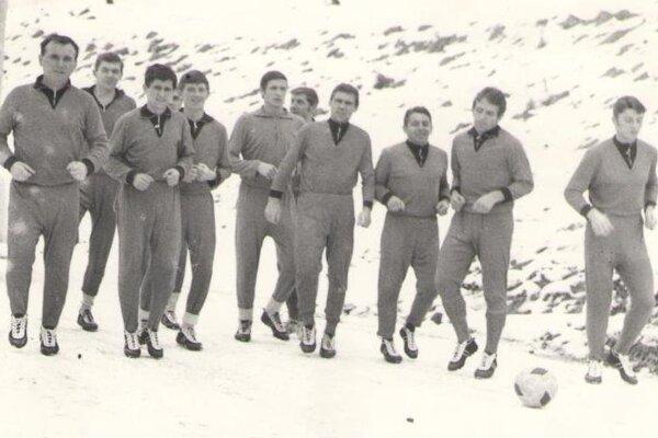 Futbalisti Žiaru v roku 1969.