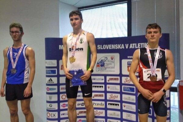 Jozef Nevedel, majster Slovenska v behu na 3000 metrov.