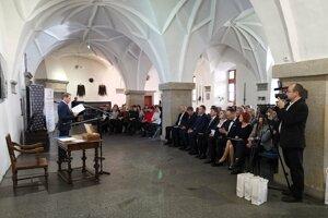 Týždeň slovenských knižníc odštartoval v Levoči.