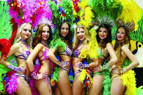 Na Latinoshow vystúpi aj tanečná skupina Bailadora Dance Group.