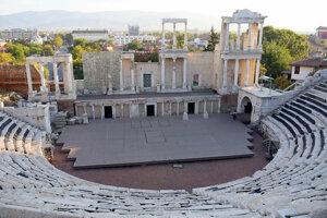 amfiteáter starého mesta Plovdiv