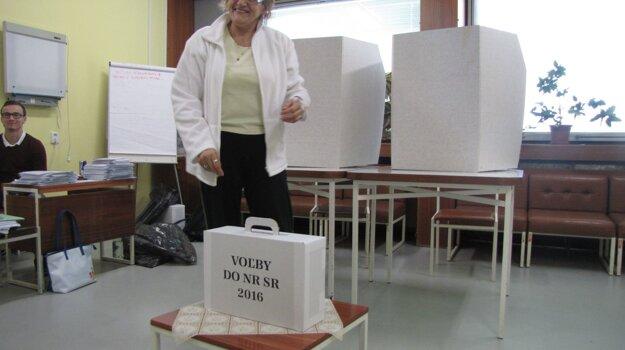 Väčšina pacientov vedela, že na hlasovanie potrebujú preukaz.