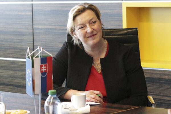 Hilda Ó Riain, veľvyslankyňa Írska na Slovensku.