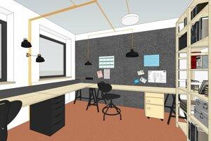 Startuppové centrum má prilákať mladých kreatívnych ľudí.