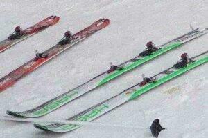 Tieto lyže zlodej ukradol.