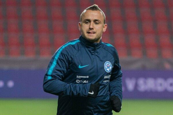 Na snímke slovenský futbalový reprezentant Stanislav Lobotka.