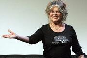Francúzska herečka Brigitte Bardotová.
