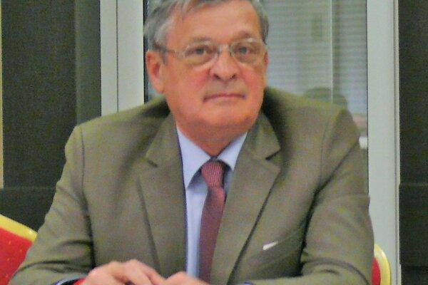 Jozef Petráš, nový predseda Oblastného výboru Slovenského zväzu protifašistických bojovníkov.