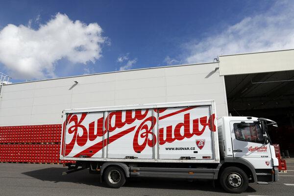 Pivovar Budvar v Českých Budějoviciach.