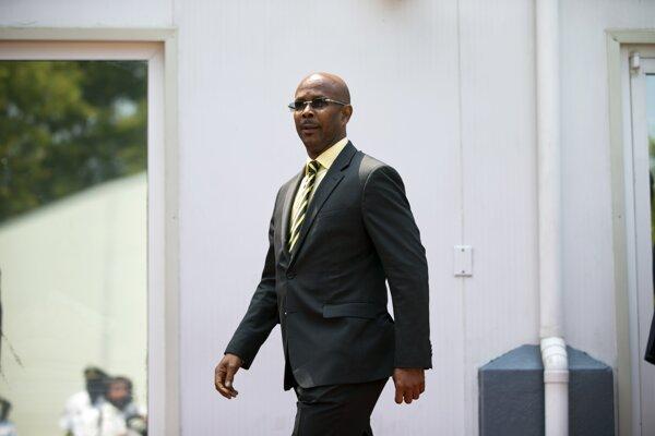 Jean-Michel Lapin, dočasný premiér Haiti.