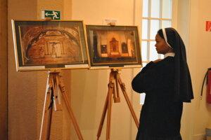 Výstava kresťanstvo v Indii.
