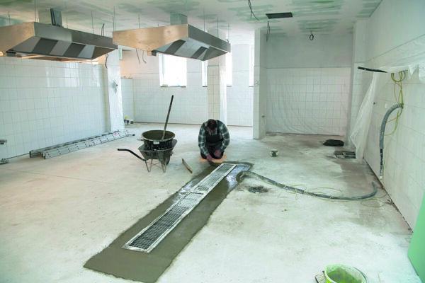 Rekonštrukcia kuchyne a jedálne.