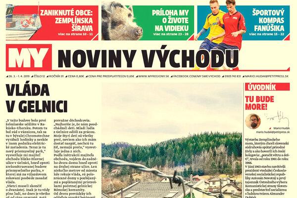 Týždenník pre východ mapuje aj minulotýždňové výjazdové rokovanie vlády v Gelnici. (ZDROJ: REDAKCIA)