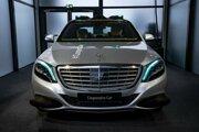 Autonómny Mercedes-Benz S500.