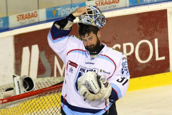 Michal Valent si v poslednom zápase základnej časti pripísal druhé čisté konto.