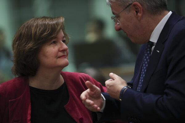 Ministerka pre európske záležitosti Nathalie Loiseauová.